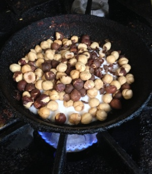 Hazelnuts Beginning