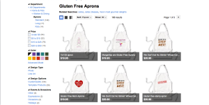Discover and Design your own GF Aprons on Zazzle.com