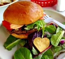 Blue Bison Burger