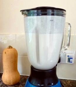 Blending Coconut Milk