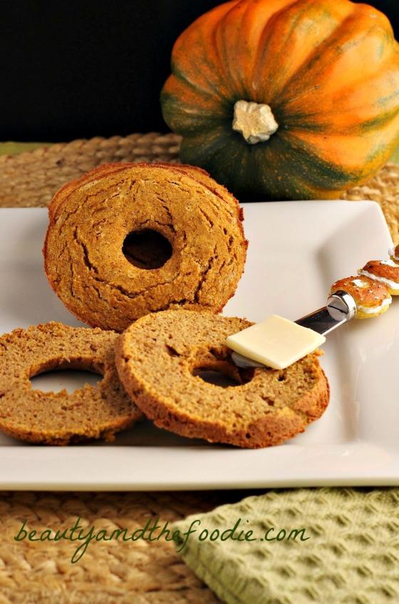 Paleo Pumpkin Bagels