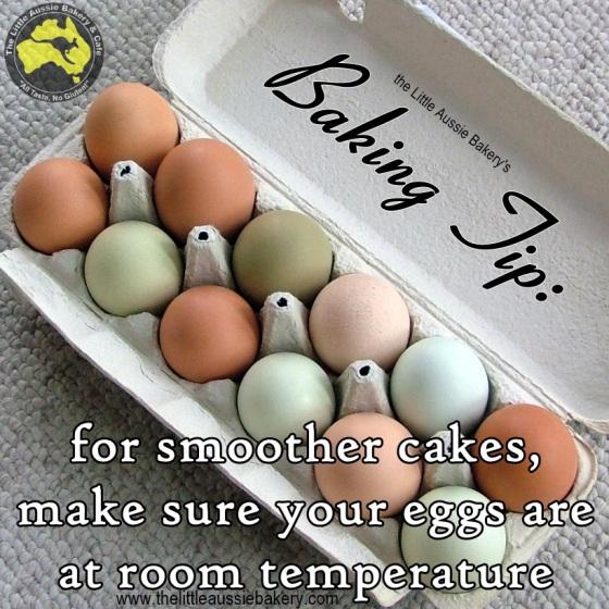 room temperature eggs