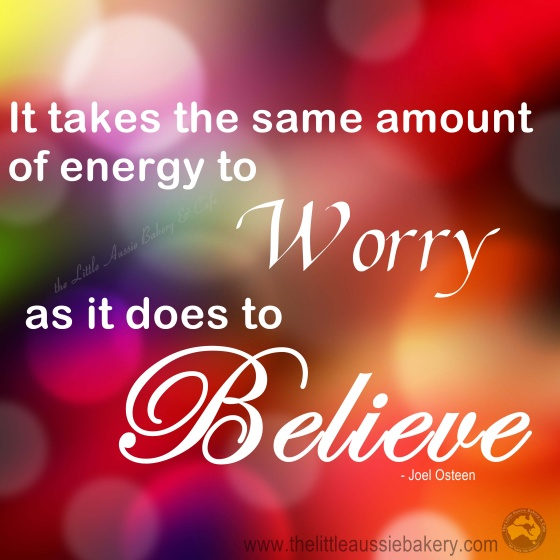 worry believe