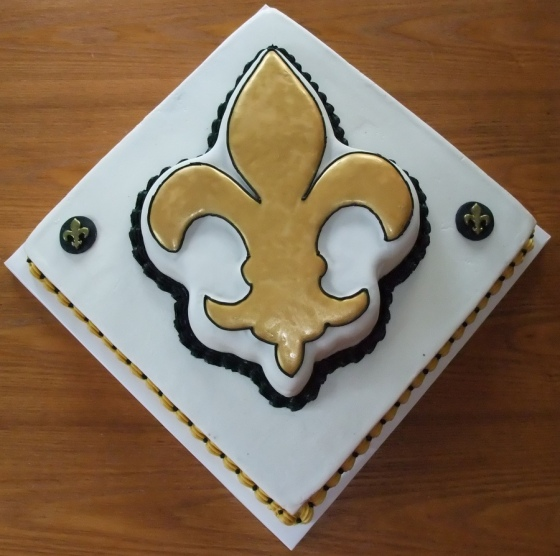 Gluten Free NOLA wedding cake