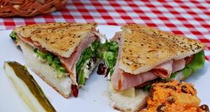 The Pacific Gluten Free Sandwich from All Aboard Deli