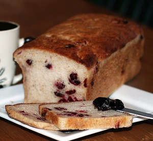 Gluten Free Cranberry Bread from the Little Aussie Bakery & Cafe in San Antonio, Texas