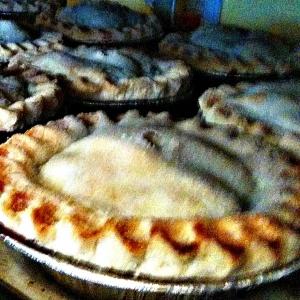 Mini gluten free pies