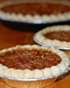 Gluten Free Corn Free Pecan Pie for Thanksgiving (or anytime)
